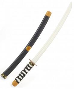 Ninja-Schwert für Kinder Säbel grau-schwarz 60cm