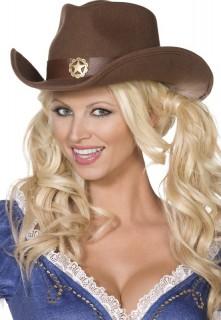Cowboy Westernhut braun