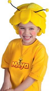 Süße Biene Maja Kindermütze gelb