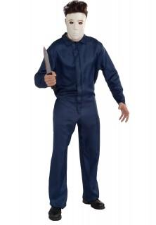Michael Myers™ Halloweenkostüm für Herren Lizenzware blau