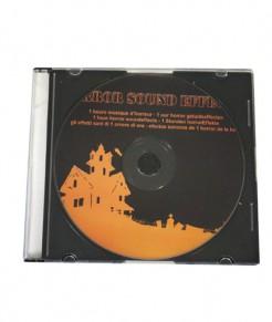 CD mit schauriger Halloween - Musik Zubehör schwarz-orange 1 Stunde Musik