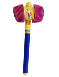 Kunststoff-Hammer Clownshammer bunt 55cm