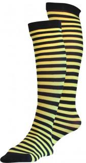 Strümpfe gelb-schwarz