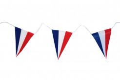 Frankreich-Girlande Flaggen 5m