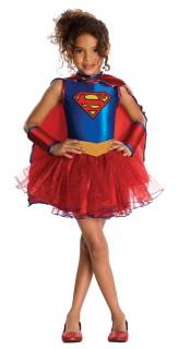 Supergirl™ Kinderkostüm für Mädchen blau-rot-gelb