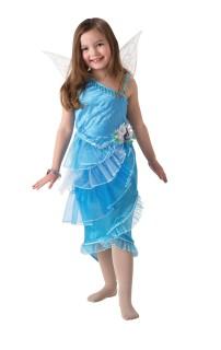 Silberhauch Kinder-Kostüm blau
