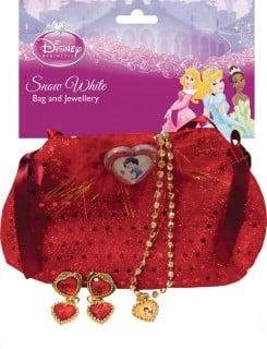 Schneewittchen-Accessoires für Mädchen rot-bunt
