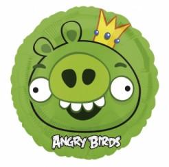 Angry Birds™ Ballon grün 45cm