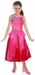 Barbie™ als Prinzessin Kinderkostüm für Mädchen Lizenzartikel rosa