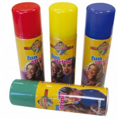Luftschlangen-Spray Silvester Party-Deko bunt 100ml