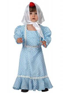 Madrid-Babykostüm blau
