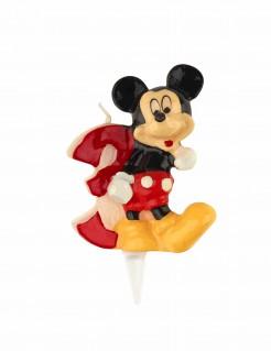 Micky Maus™-Kerze Geburtstagskerze Zahl 3