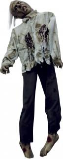 Halloween Raumdekoration Hängender Körper schwarz-grau-rot