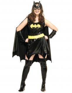 Batgirl™-Lizenzkostüm Superheldin-Damenkostüm schwarz