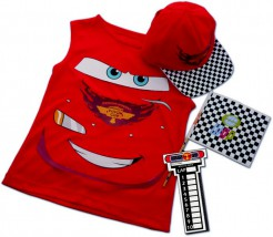 Cars Set für Kinder rot