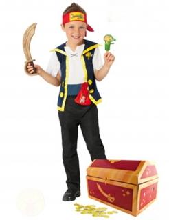 Jake der Pirat™ Kinderkostüm für Jungen Jake und die Nimmerland-Piraten™ Lizenzartikel bunt