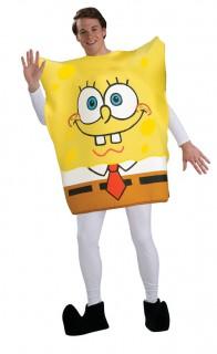 Spongebob Schwammkopf Kostüm gelb-bunt