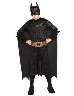 Batman™ Kinderkostüm mit Accessoires Lizenzware schwarz-grau
