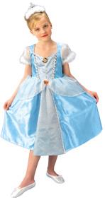 Märchenhaftes Cinderella™-Mädchenkostüm Disney-Lizenzkostüm