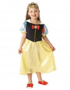 Süsses Schneewittchen Kinderkostüm für Mädchen Disney™ Lizenzartikel blau-rot-gelb