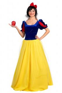 Märchen-Prinzessin - Kostüm für Damen gelb-blau