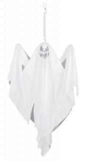 Halloween Party Geister-Hängedeko weiss 50x40cm
