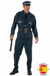 Sexy Polizist Stripper Kostüm dunkelblau