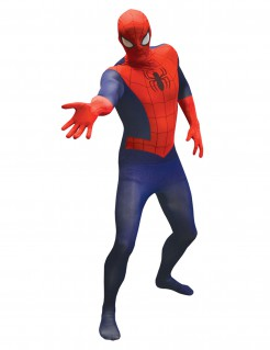 Marvel Spiderman Value Morphsuit Lizenzware blau-rot