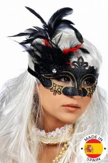 Feder-Maske