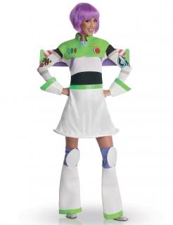 Damenkostüm Miss Lightyear Toy Story weiß-grün-schwarz-violett