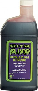 Kunstblut in Kanister Fake-Blut 480ml rot