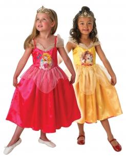 Belle™ und Dornröschen Wendekostüm für Mädchen bunt