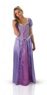 Rapunzel Disney Damenkostüm Prinzessin Lizenzware flieder