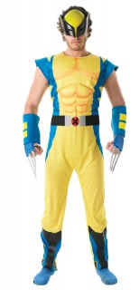 Deluxe Wolverine™-Lizenzkostüm für Erwachsene bunt