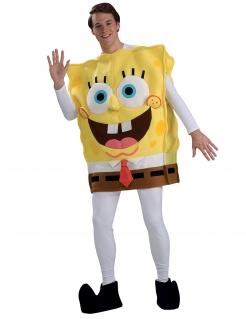 SpongeBob Kostüm Lizenzware gelb-weiss