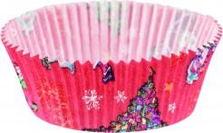 Cupcake-Formen Weihnachtsmotiv 20 Stück