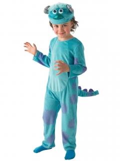 Die Monster Uni Sulley Deluxe Kinder Kostüm Lizenzware blau-lila