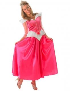 Dornröschen™-Kostüm für Damen rosa-weiss