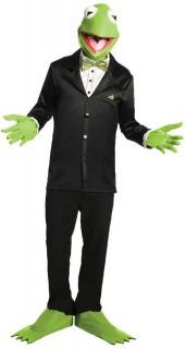 Kermit Set Kostüm-Zubehör grün