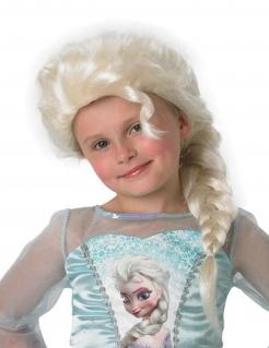 Elsa Disney Kinder-Perücke Lizenzware platinblond