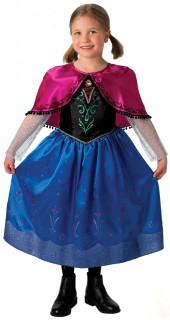 Disneys Frozen Die Eiskönigin Anna Deluxe Kinder Kostüm Lizenzware bunt