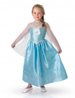 Disneys Frozen Die Eiskönigin Elsa Deluxe Kinder Kostüm Lizenzware