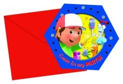 Meister Mannys Werkzeugkiste™ Einladungskarten 6 Stück