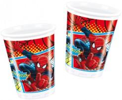 Spiderman™-Becher 8 Stück