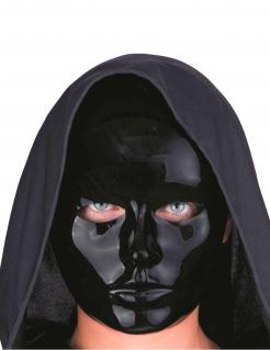 Theatermaske Gesichtsmaske schwarz