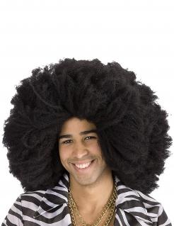 Afro-Perücke voluminös Kostüm-Accessoire schwarz