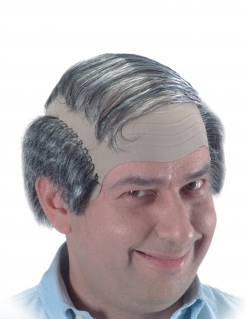 Glatzen-Perücke Halbglatze
