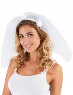 Junggesellinnenabschied Braut-Schleier weiss