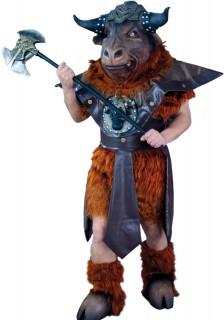 Minotaurus Mythologie Kostüm braun-schwarz