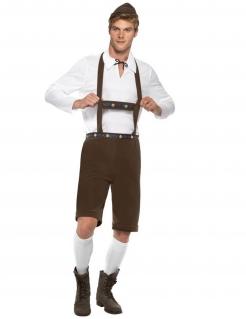 Kostüm Bayrische Tracht für Herren braun
